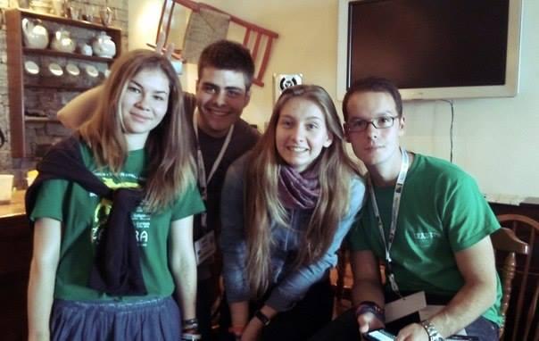 Liza, Bruno, Dasha i Miron
