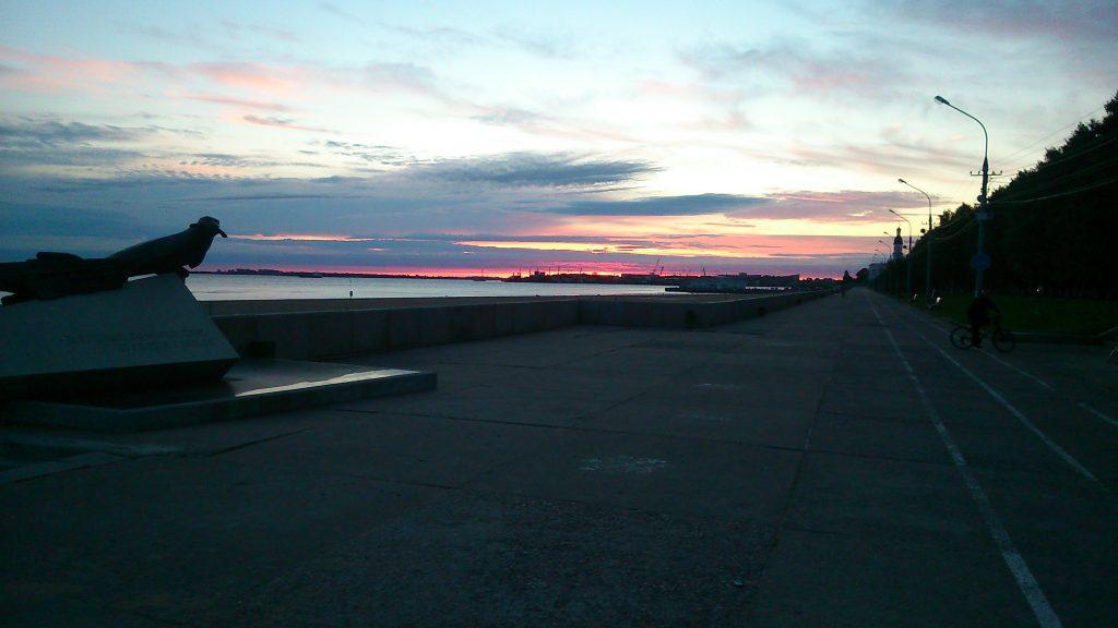 izlazak sunca oko 2 ujutro