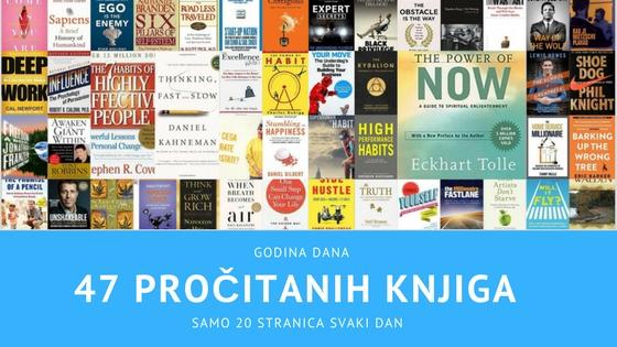 Kako sam s lakoćom pročitao 47 knjiga u godini dana