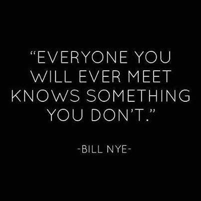 Svi te nešto mogu naučiti