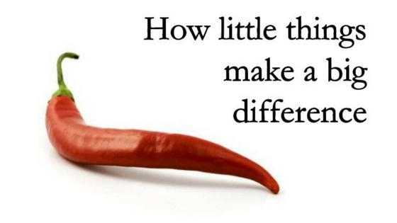 Male stvari u životu čine veliku razliku