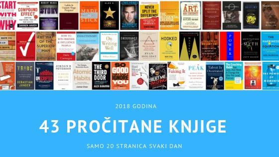 Kako sam u 2018.godini s lakoćom pročitao 43 knjige