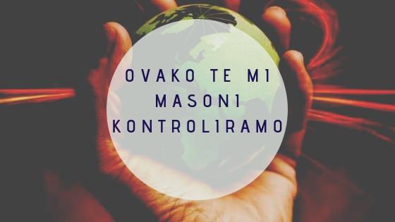 5 provjerenih načina kako mi Masoni vladamo BiH