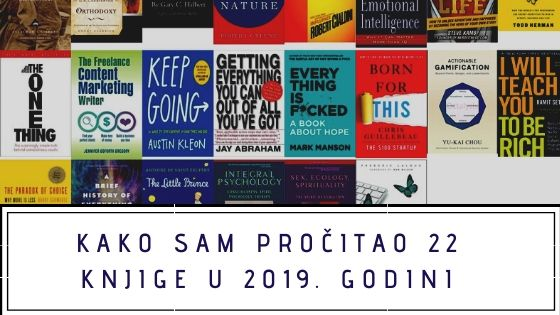 Opis 22 knjige koje sam pročitao u 2019. godini