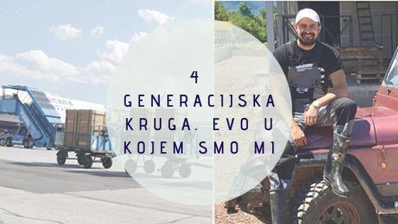 4 generacijska kruga. Evo u kojem smo mi