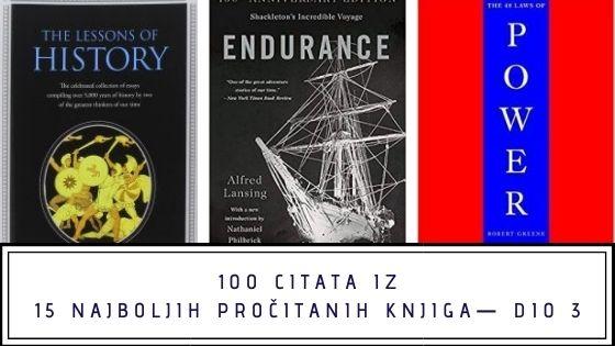 100 citata iz 15 najboljih pročitanih knjiga— dio 3
